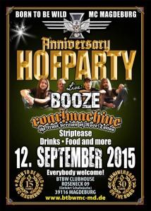BTBW Magdeburg Hofparty 2015
